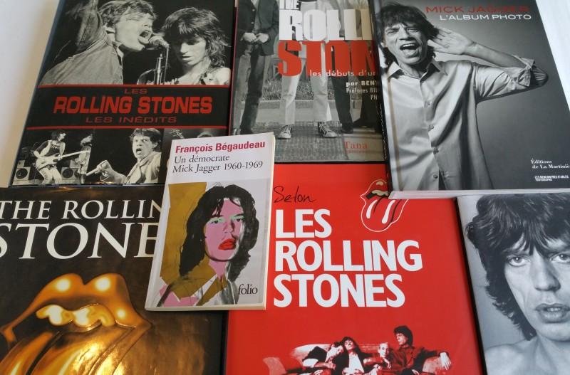 Biographies et livres de photos des Rolling Stones