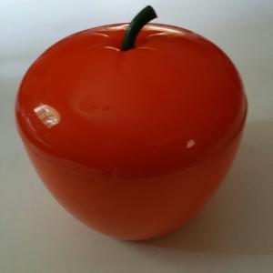 Seau à glace orange en forme de pomme