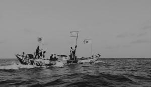 Pêcheurs ghanéens