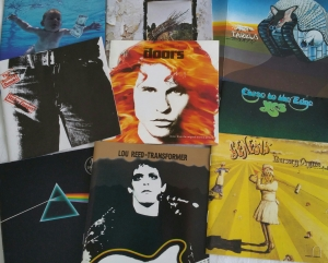Pochettes de disques vinyle