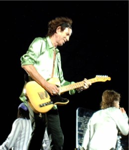Keith Richards sur scène en 2006
