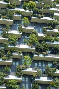 Immeuble entièrement végétalisé