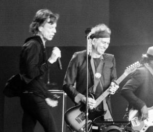 Mick Jagger et Keith Richards