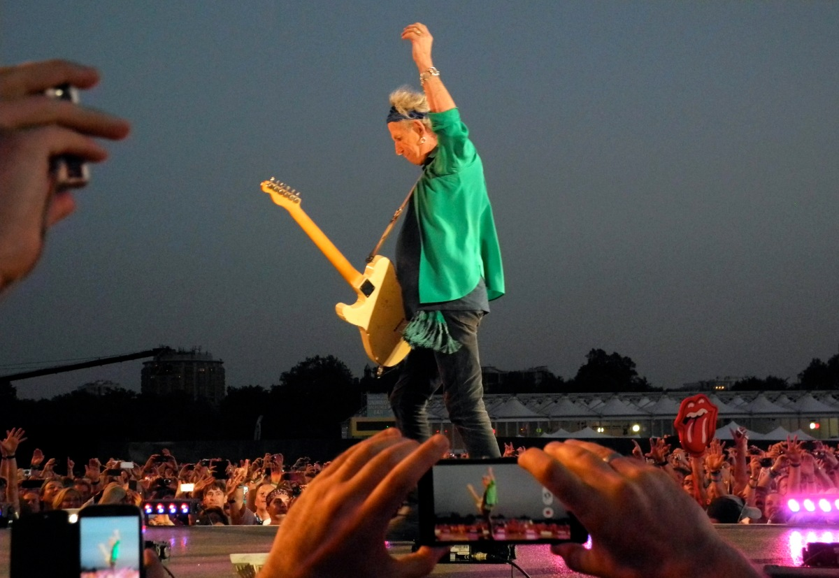 Keith Richards, mixedemotions